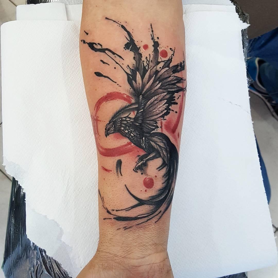 秦小姐脚背藤蔓纹身图案图片